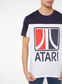 White 'Atari' Jersey T-Shirt