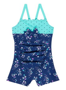 Girls Multicoloured Floral Swimsuit (9 months - 12 years)