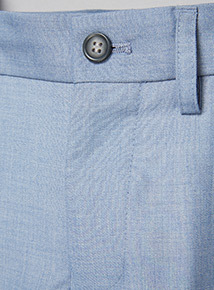 Light Blue Smart Occasion Trousers (3-14 years)