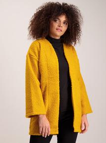 Mustard Yellow Bouclé Jacket