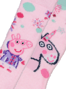 Peppa Pig Multicoloured Socks 2 Pack (6 Infant - 3.5 Adult)
