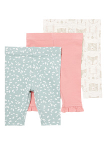 3 Pack Legging (0-24 months)