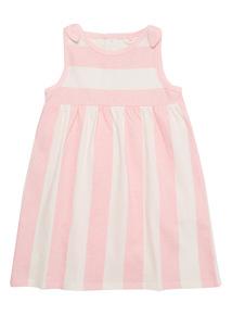 Multicoloured Stripe Dress (0 - 24 months)