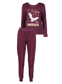 Harry Potter Purple Hogwarts Pyjamas