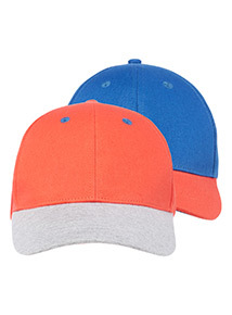 2 Pack Navy and Red Caps (1-13 years)