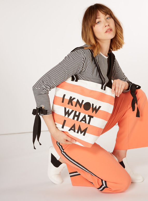 GFW Striped Tote Bag
