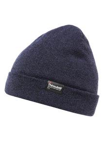 Blue Thinsulate Knit Beanie