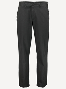 Green Straight Leg Chinos With Stretch