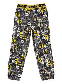 Boys Black Lego Batman Lounge Pants (4-12 years)