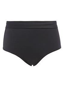Roll Top Bikini Shorts