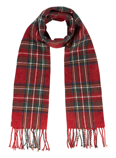 mens checked woven scarf tu clothing