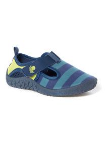 Blue Striped Aqua Shoes