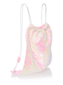 Multicoloured Sequin Swim Bag