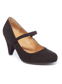 Cone Heel Mary Jane