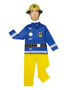 Boys Multicoloured Fireman Sam Costume (1 - 6 years)