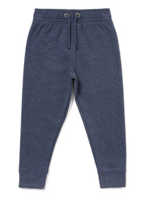 Navy Slim Leg Joggers (3-14 Years)