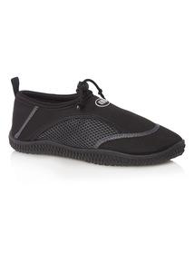 Black Wet Shoes