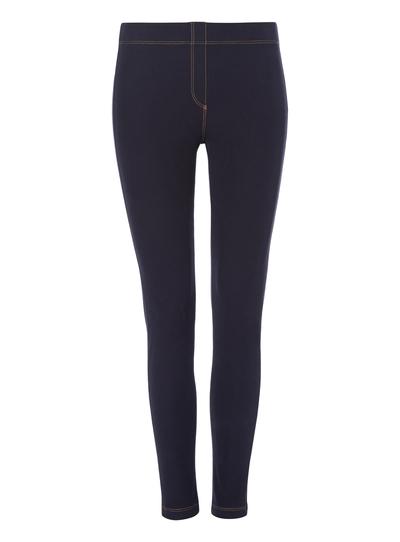 da0b93058f00 Womens Dark Blue Denim Look Leggings | Tu clothing