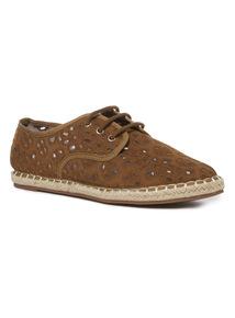 Crochet Lace Up Shoes