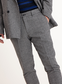 GFW Monochrome Dogtooth Tapered Trouser