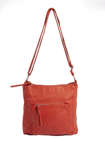 Rust Orange Cross Body Bag