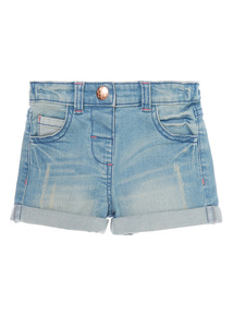 Girls Denim Shorts (9 months-6 years)