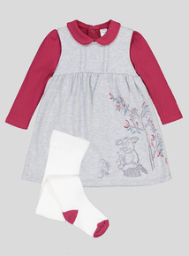 Gruffalo 3 Piece Dress & Tights Set (0-24 months)