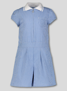2469007f53 Blue Gingham School Playsuit (3-14 years)