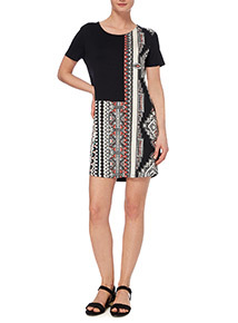 Geo Voodoo Patterned Tunic