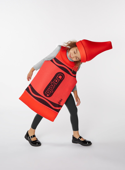 Red Crayola Crayon Costume (3-8 years)