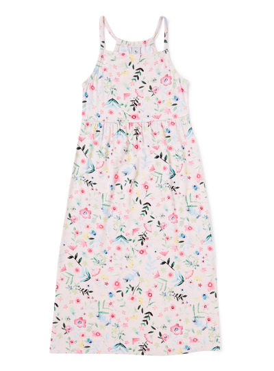 Multicoloured Floral Maxi Dress (3-14 years)