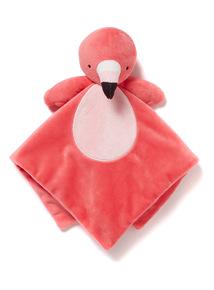 Pink Flamingo Comforter (0-24 months)