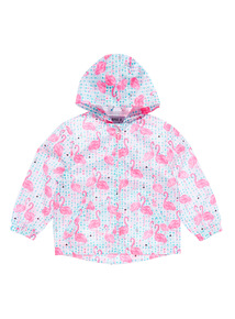 Multicoloured Flamingo Pam Jacket (3 - 12 years)