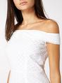 Thumbnail of SKU: 16/04 BARDOT SHIFFLY PLINTH DRESS:White