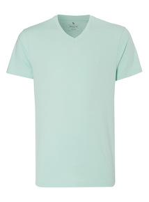 Mint Basic V-neck T-shirt