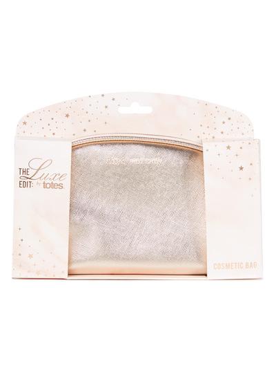 Luxe Metallic Cosmetic Bag