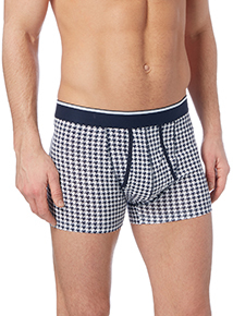 Multicoloured Puppytooth Trunks 3 Pack