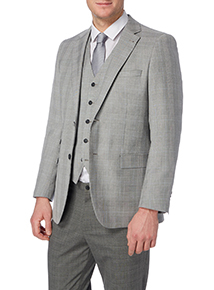 Grey Check Jacket