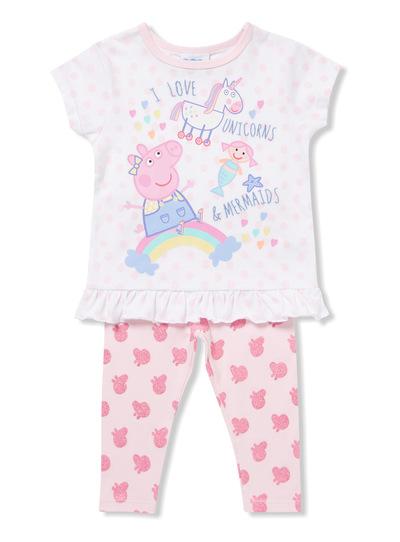 Kids Multicoloured Peppa Pig Pyjamas (1-6 years)   Tu clothing