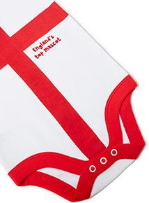 White Football World Cup Bodysuit (Newborn - 24 months)