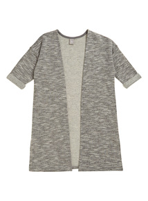 Girls Grey Sweater Cardigan (3 - 12 years)
