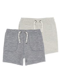 Piqué Sweat Shorts 2 Pack (9 months - 6 years)