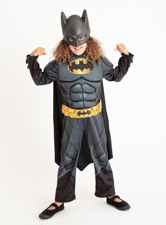 Fancy Dress Black Batman Costume Set 3 10 Years Tu