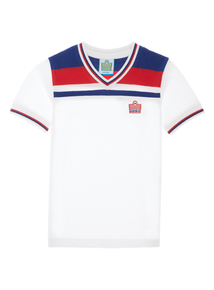 Admiral Boys White V Neck T-shirt (3-12 years)