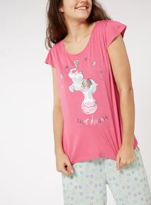 Elephant Pyjama Top