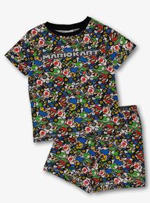 91697e60cf Mario Kart Multicoloured Pyjama Set (3 -12 Years)