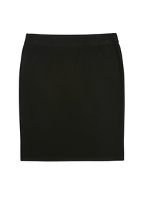 Girls Black Ponte Tube Skirt (10-16 Years)