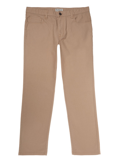Stone Straight Stretch Trousers