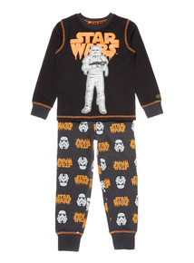 Black Disney Star Wars Halloween Storm Trooper PJ (3-14 years)