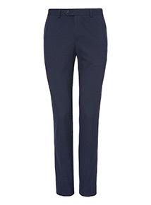 Navy Skinny Stretch Trousers